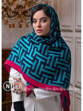 روسری-نیلا-دستدوز-۱۴۰-در-۱۴۰-۶-رنگ-۹۳۱۳-