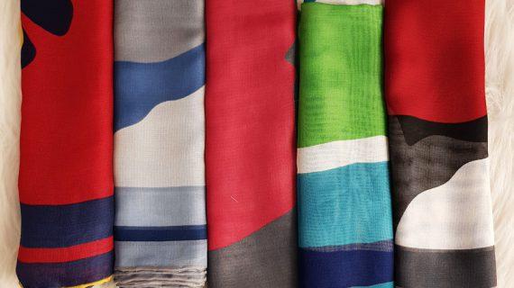 ۷ نکتهی کاربردی برای خرید شال و روسری تابستانی