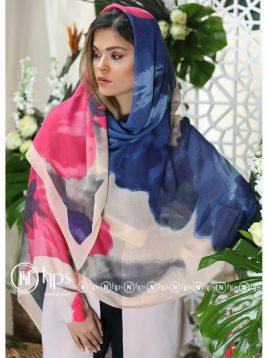 روسری-نخی-منگولهدار-۱۴۰-در-۱۴۰-۶-رنگ-۶۰۶۰۶۱۶۹