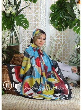 روسری-نیلا-دستدوز-۱۴۰-در-۱۴۰-۶-رنگ-۲۰۸۰۴۳۴۴