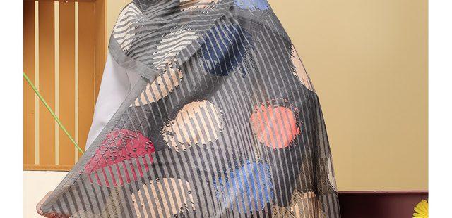 راهنمای انتخاب رنگ شال و روسری با توجه به رنگ پوست صورت